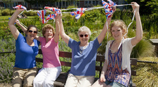 Queen's Jubilee resident event at Redcross Cottages